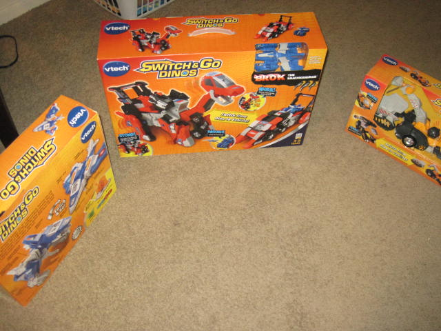 Toy Reviews: VTech Switch and Go Dinos