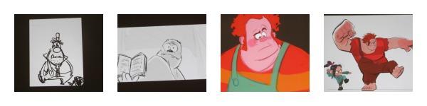 ralph visual development Collage