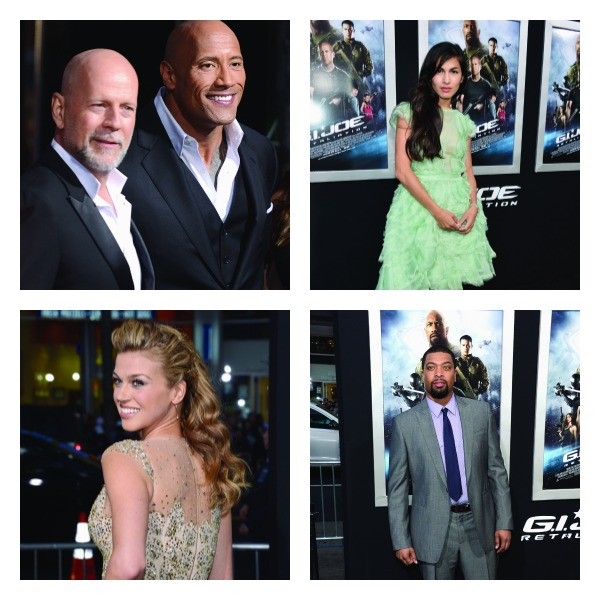 GI Joe premiere Collage