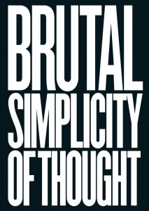 Book Reviews: Brutal Simplicity of Thought
