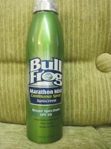 Health reviews: Bullfrog sunscreen