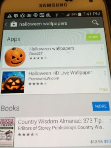 Old school Halloween on my #VZWBuzz Galaxy S5