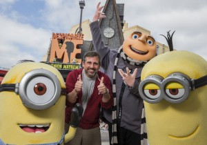 Steve Carell at Universal Orlando Resort