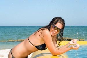 Get a bikini bod: the summer look