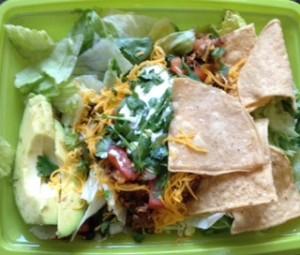 Ensaladas at Del Taco!