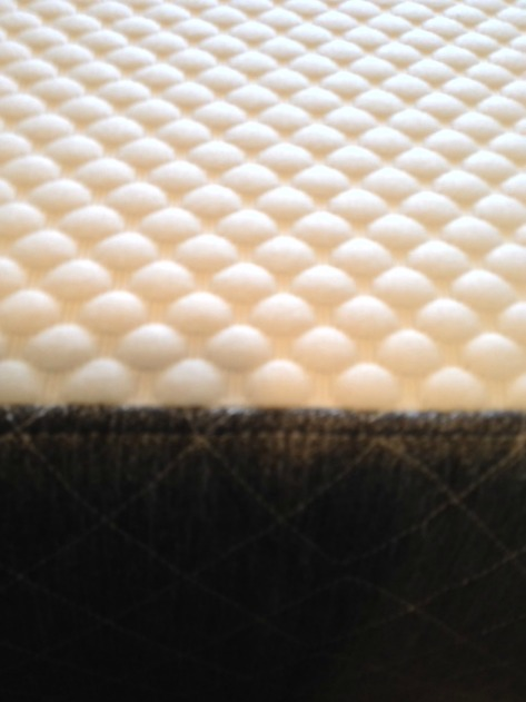 texture of bed