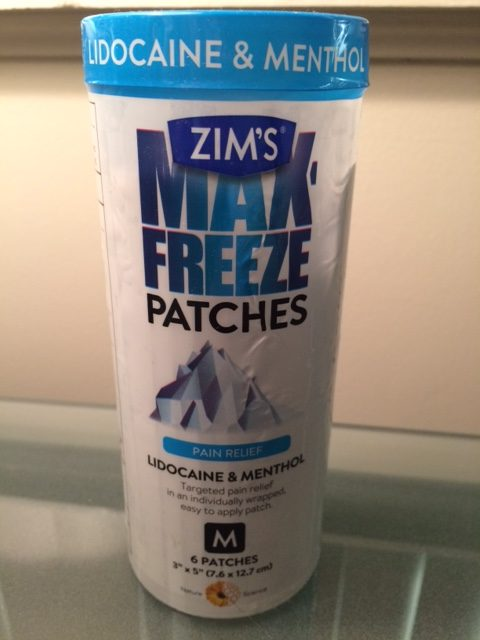 Got a Boo Boo?  Try ZIM'S Max Freeze Patches