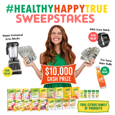 We've got the 411 on the Be Healthy, Be Happy, Be True Sweepstakes