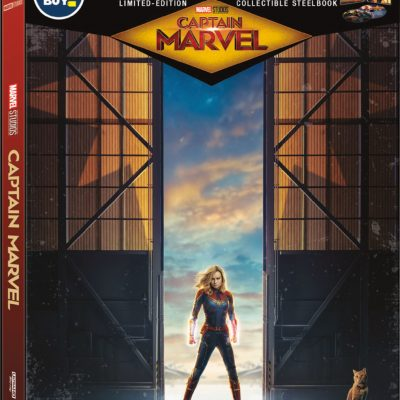 A review of the Captain Marvel Collectible Steelbook at Best Buy