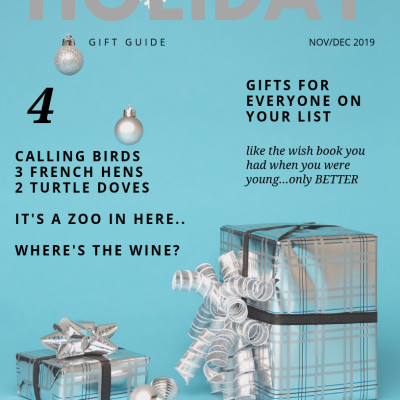 A holiday gift guide for the entire family…well, almost