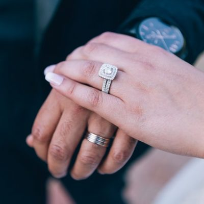 Getting Engaged with Moissanite Diamonds