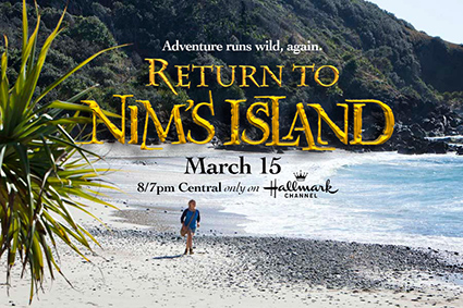 Giveaway: Return to Nim's Island
