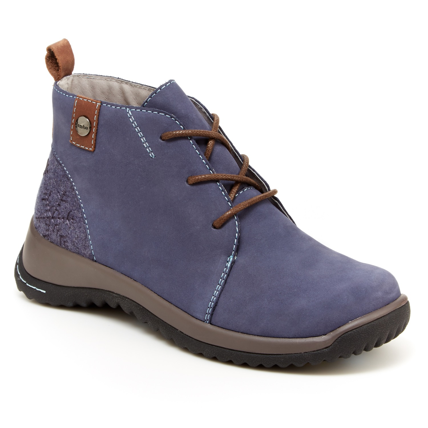 The Review Broads walk a mile in JAMBU SHOES