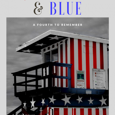 Red white & blue summer fun gift guide