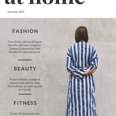 The new at home Fashion Beauty & Fitness Guide